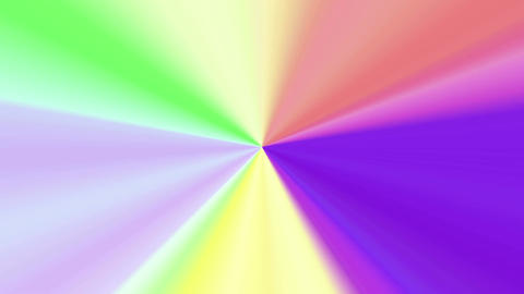 Colors spectrum rotation 4K Animation