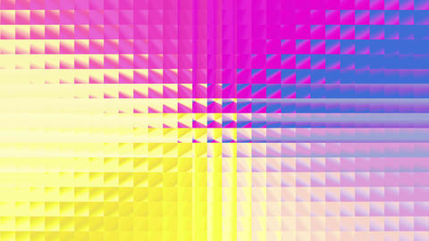Abstract colorful square pattern 4K Animación
