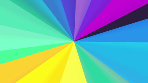 Color wheel spectrum 4K Animation