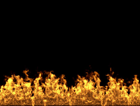 Fireplace Fire and flames Stock Video Footage