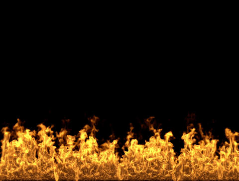 Fireplace Fire and flames Animation