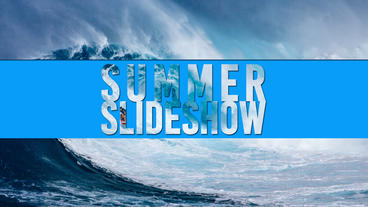 Summer Slideshow After Effects Project