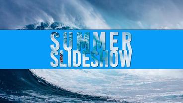 Summer Slideshow After Effectsプロジェクト