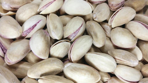 Pistachios rotating Footage