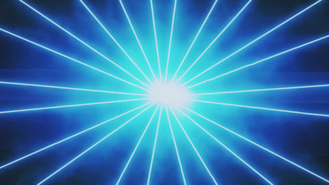 Blue Laser Beams Rays Motion Background Backdrop Animation