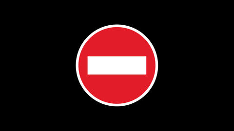 14 Traffic Signs Animated