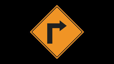 14 Traffic Signs Animated 0