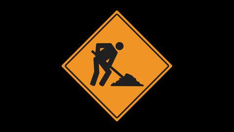 Traffic Sign Animated Animation