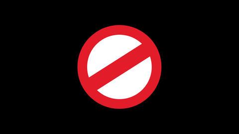 Traffic Sign Animated GIF