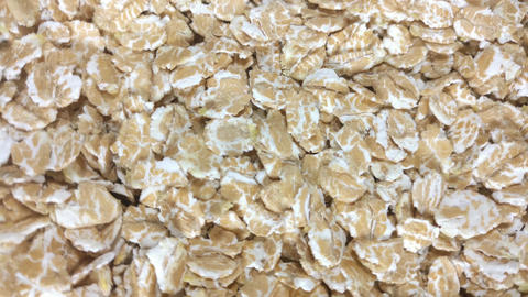 Oat flakes as background Live Action