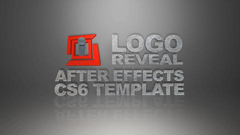 3 D Text Logo Reveal After Effects Template