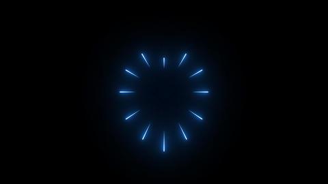 Blue Light Burst GIF