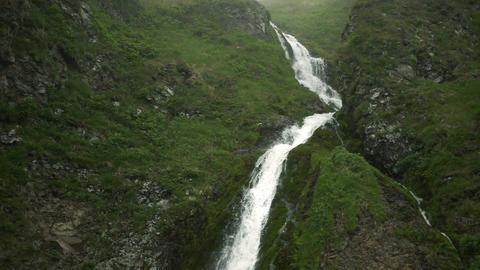 Waterfall in Green Mountain Footage