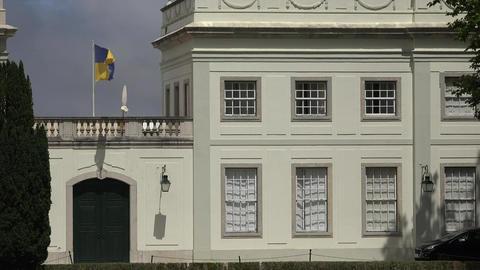 Windows Of Mansion Or Estate Footage