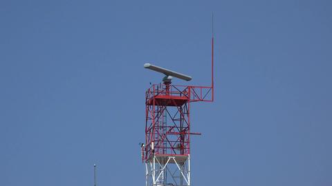 Communications Or Radar Tower Footage