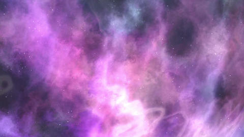 Violet-purple Space Nebula Background