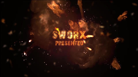 EXPLOSIVE TITLES After Effects Template