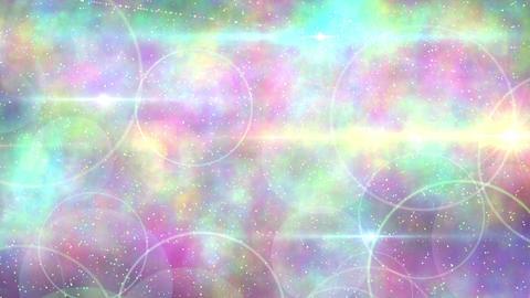 Rebound particle flame wht Animación