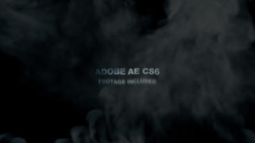 Smoke Titles Logo Reveal After Effects Project