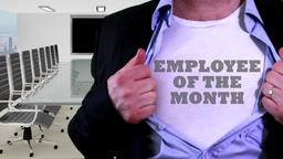Employee of the month shirt Footage