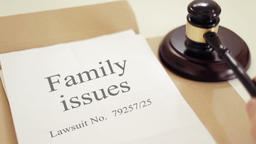 Family Issues Lawsuit Verdict Footage