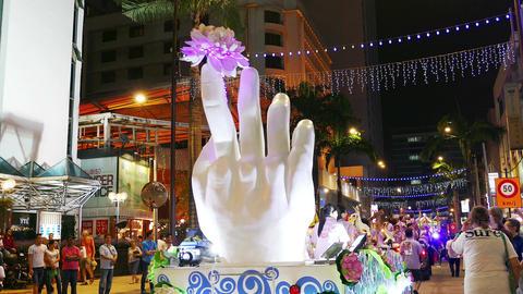 Buddha Hand Malaysia Festival Kuala Lumpur Asia 4k