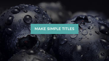 Inspiration Titles After Effects Project