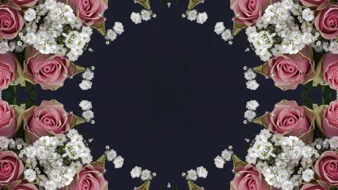 kaleidoscope flower Animation