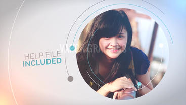 Circle Presentation: Template for Apple Motion 5 and Final Cut Pro X Appleモーションプロジェクト