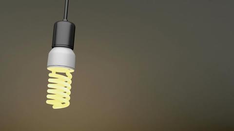 Swinging light bulb Animation