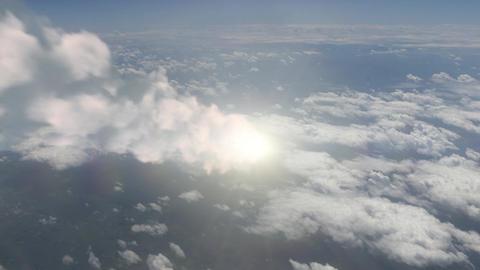 Meteor (Asteroid) burns in atmosphere