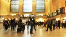 timelapse people fast motion Footage