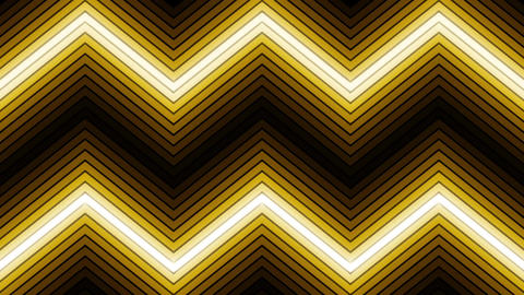 VJ yellow gold light event concert dance music videos show party led neon loop Animation