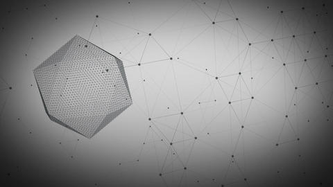 Math Plexus Background Animación