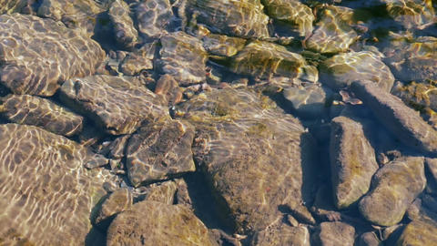 Water Stones Video Background Footage