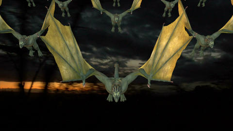 Flock of Dragons invades Animation