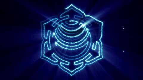 Energy Chakra Loop Animation
