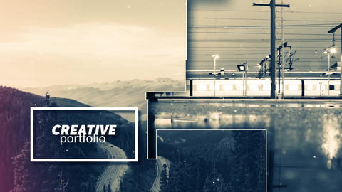 Creative Promo Slideshow After Effects Template