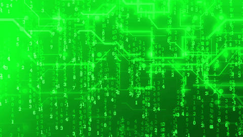 Abstract circuit board Internet technology concept Stock Video Footage
