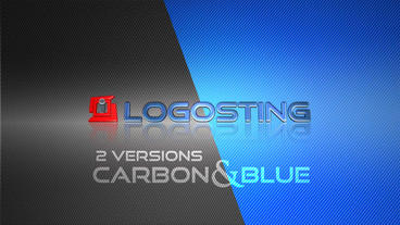 Carbon Logo Sting Intro After Effects Project
