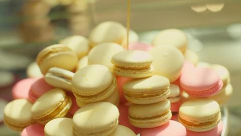 Tasty Wedding Cookies Footage
