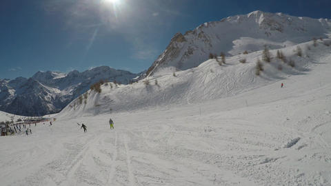Skiing through the eyes of the skier Archivo