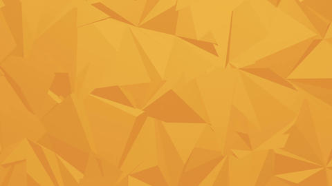 Orange Corporate Polygonal Background Animation