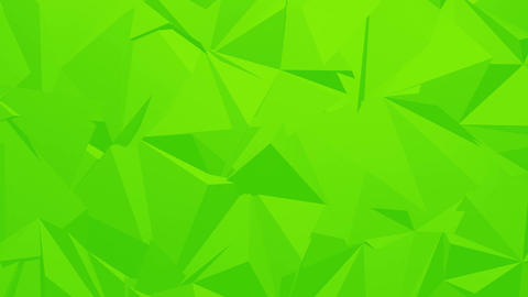 Green Corporate Polygonal Background Animation