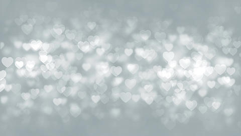 Hearts Particles Background Animation