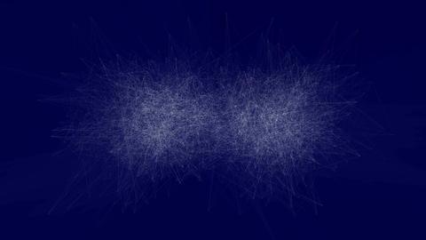 [4K]Blue scratch noise Animación
