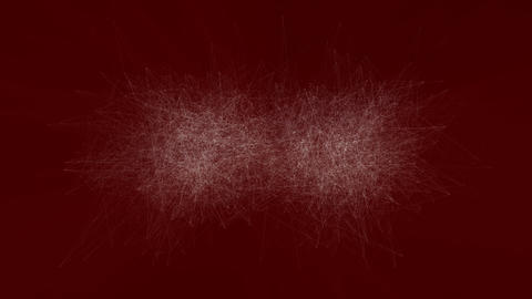 [4K]Red scratch noise Animation