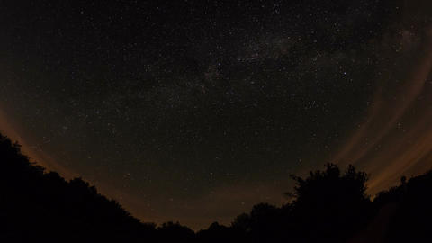 Milky Way Time Lapse ビデオ