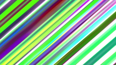 Diagonal Colored Motion Curtain Lines Rainbow Abstract Background Animation