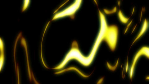 Golden Yellow Motion Particles Light Flowing Down Abstract Background CG動画素材